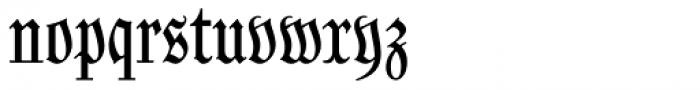 Coroner Font LOWERCASE
