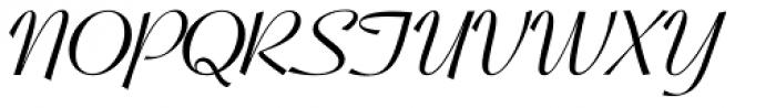 Coronet Bold Font UPPERCASE
