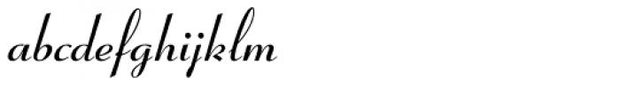 Coronet Bold Font LOWERCASE