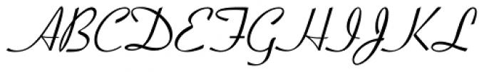 Coronet I Font UPPERCASE