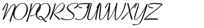 Coronet RR Font UPPERCASE