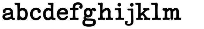 Coronette Font LOWERCASE