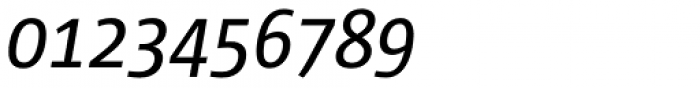 Corpid SemiCond Italic Font OTHER CHARS