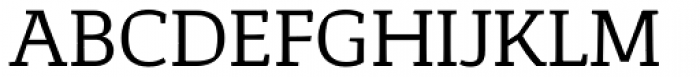 Corpo Serif Font UPPERCASE