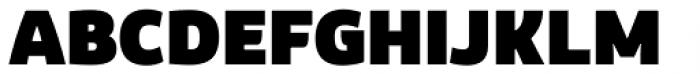 Corporaet Black Font UPPERCASE