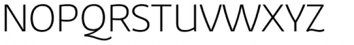 Corporaet Light Font UPPERCASE