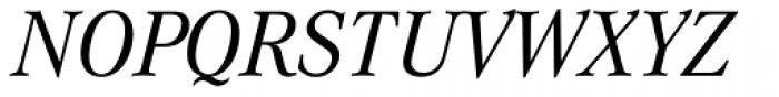 Corporate A BQ Italic Font UPPERCASE