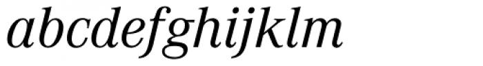 Corporate A BQ Italic Font LOWERCASE