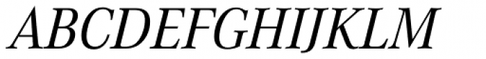 Corporate A Italic Font UPPERCASE