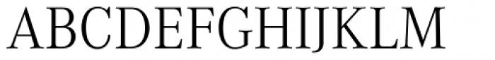 Corporate A Light Font UPPERCASE