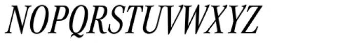 Corporate A Pro Cond Italic Font UPPERCASE
