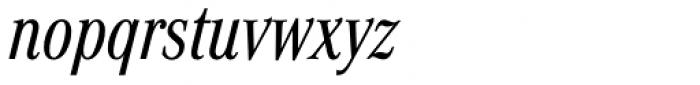 Corporate A Pro Cond Italic Font LOWERCASE