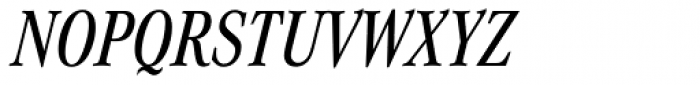 Corporate A Pro Cond Medium Italic Font UPPERCASE