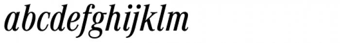 Corporate A Pro Cond Medium Italic Font LOWERCASE