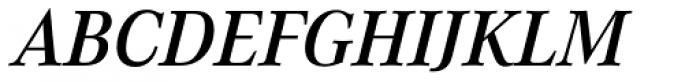 Corporate A Pro Demi Italic Font UPPERCASE