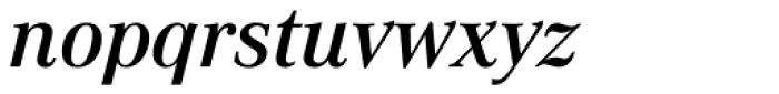 Corporate A Pro Demi Italic Font LOWERCASE