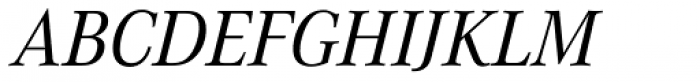 Corporate A Pro Italic Font UPPERCASE