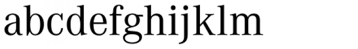 Corporate A Regular Font LOWERCASE