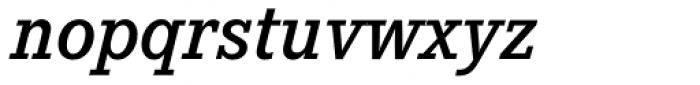 Corporate E Demi Italic Font LOWERCASE