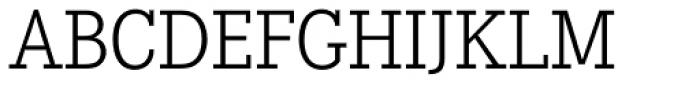 Corporate E Light Font UPPERCASE