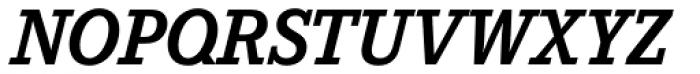 Corporate E Pro Bold Italic Font UPPERCASE
