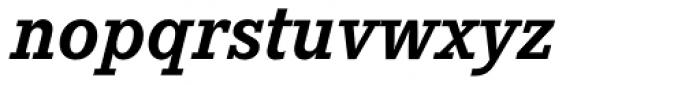 Corporate E Pro Bold Italic Font LOWERCASE