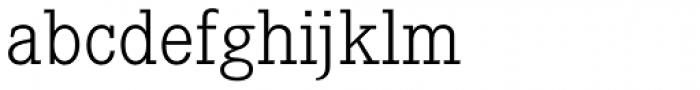 Corporate E Pro Light Font LOWERCASE