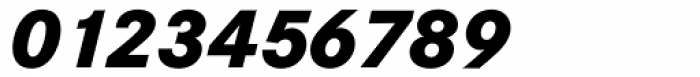 Corporate S BQ ExtraBold Italic Font OTHER CHARS