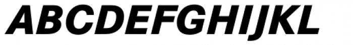 Corporate S BQ ExtraBold Italic Font UPPERCASE