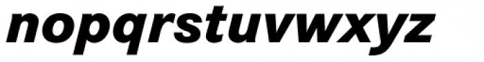 Corporate S BQ ExtraBold Italic Font LOWERCASE
