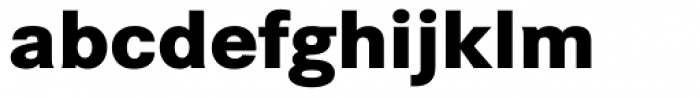Corporate S BQ ExtraBold Font LOWERCASE