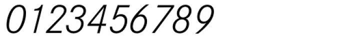 Corporate S BQ Light Italic Font OTHER CHARS