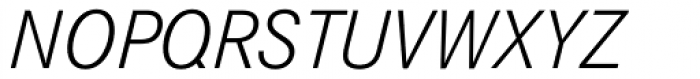 Corporate S BQ Light Italic Font UPPERCASE