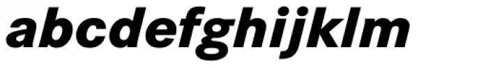 Corporate S ExtraBold Italic Font LOWERCASE