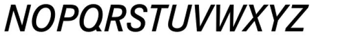 Corporate S Pro Demi Italic Font UPPERCASE