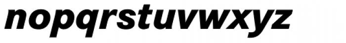 Corporate S Pro ExtraBold Italic Font LOWERCASE