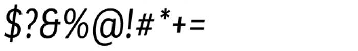 Corporative Alt Condensed Regular Italic Font OTHER CHARS