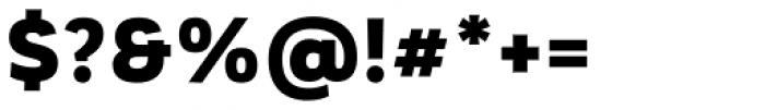 Corporative Sans Alt Black Font OTHER CHARS