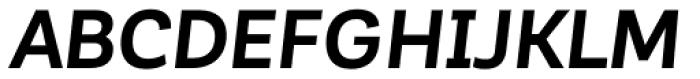 Corporative Sans Alt Bold Italic Font UPPERCASE