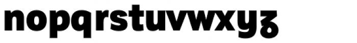 Corporative Sans Alt Condensed Black Font LOWERCASE