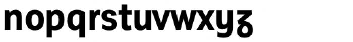 Corporative Sans Alt Condensed Bold Font LOWERCASE