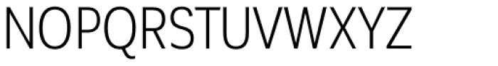 Corporative Sans Alt Condensed Book Font UPPERCASE