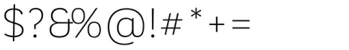 Corporative Sans Alt Light Font OTHER CHARS