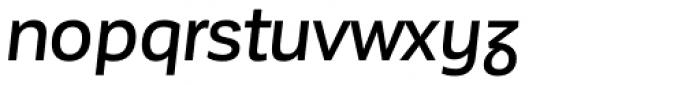 Corporative Sans Alt Medium Italic Font LOWERCASE