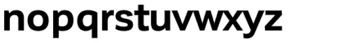 Corporative Sans Bold Font LOWERCASE
