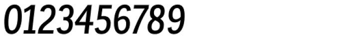 Corporative Sans Condensed Medium Italic Font OTHER CHARS