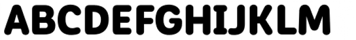 Corporative Sans Round Condensed Alt Black Font UPPERCASE