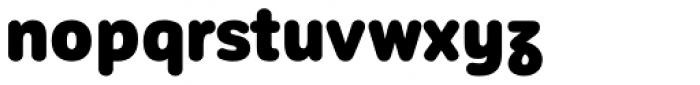 Corporative Sans Round Condensed Alt Black Font LOWERCASE