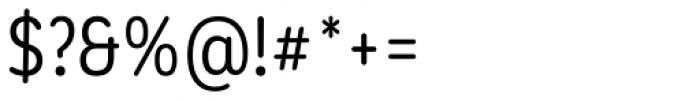 Corporative Sans Round Condensed Alt Regular Font OTHER CHARS