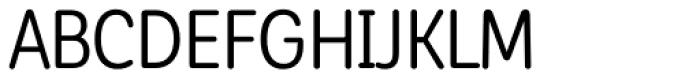 Corporative Sans Round Condensed Alt Regular Font UPPERCASE